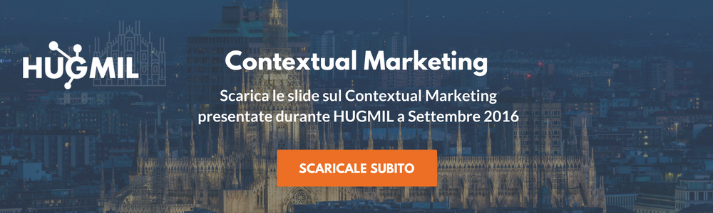 Scarica le presentazioni sul Contextual Marketing