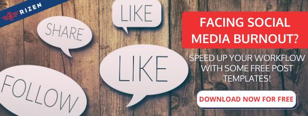 Free social media templates offer