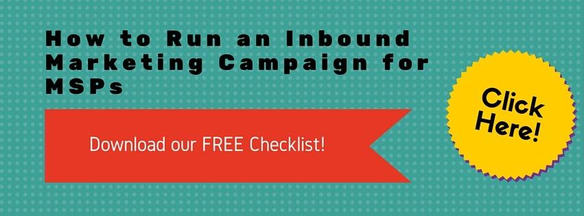 DOWNLOAD OUR FREE CHECKLIST