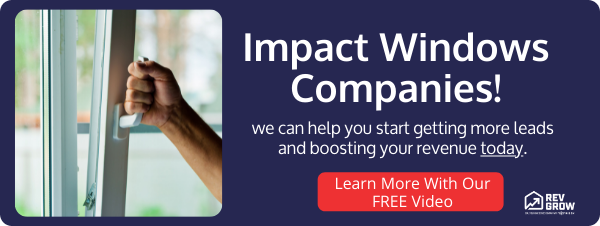 Impact Windows Marketing Free Video Offer