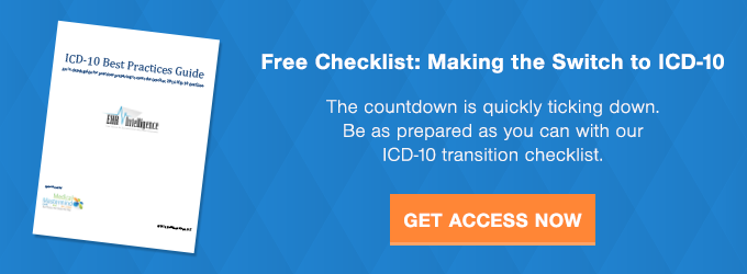 Free Checklist: Making the Switch to ICD 10