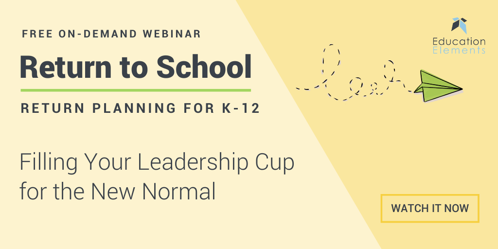 Filling your leadership cup for the new normal webinar