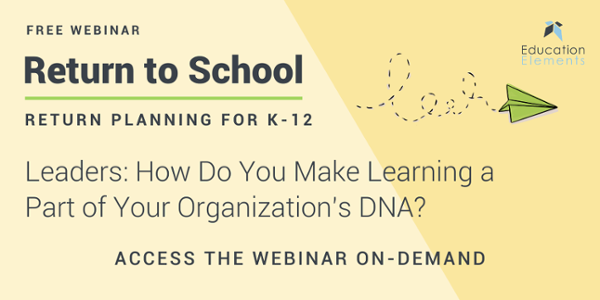Leaders How Do You Make Learning a Part of Your Organization's DNA Webinar