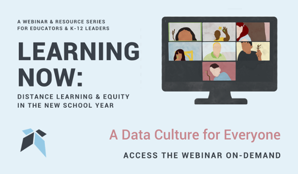A Data Culture for Everyone - Free Webinar from Education Elements on November 17th at 8am PT/11am ET
