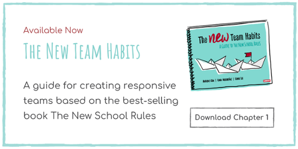 The New Team Habits is available to purchase now - download a sample chapter here.