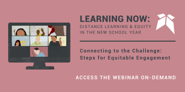 "Join the free Education Elements Webinar, ""Connecting to the Challenge: Steps for Equitable Engagement"" on-demand"