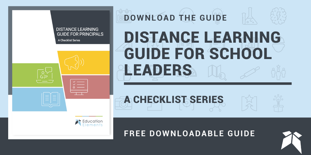 distance learning guide for school leaders