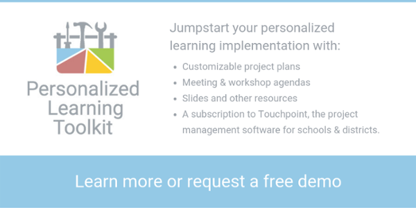 Learn more about the Personalized Learning Toolkit from Education Elements