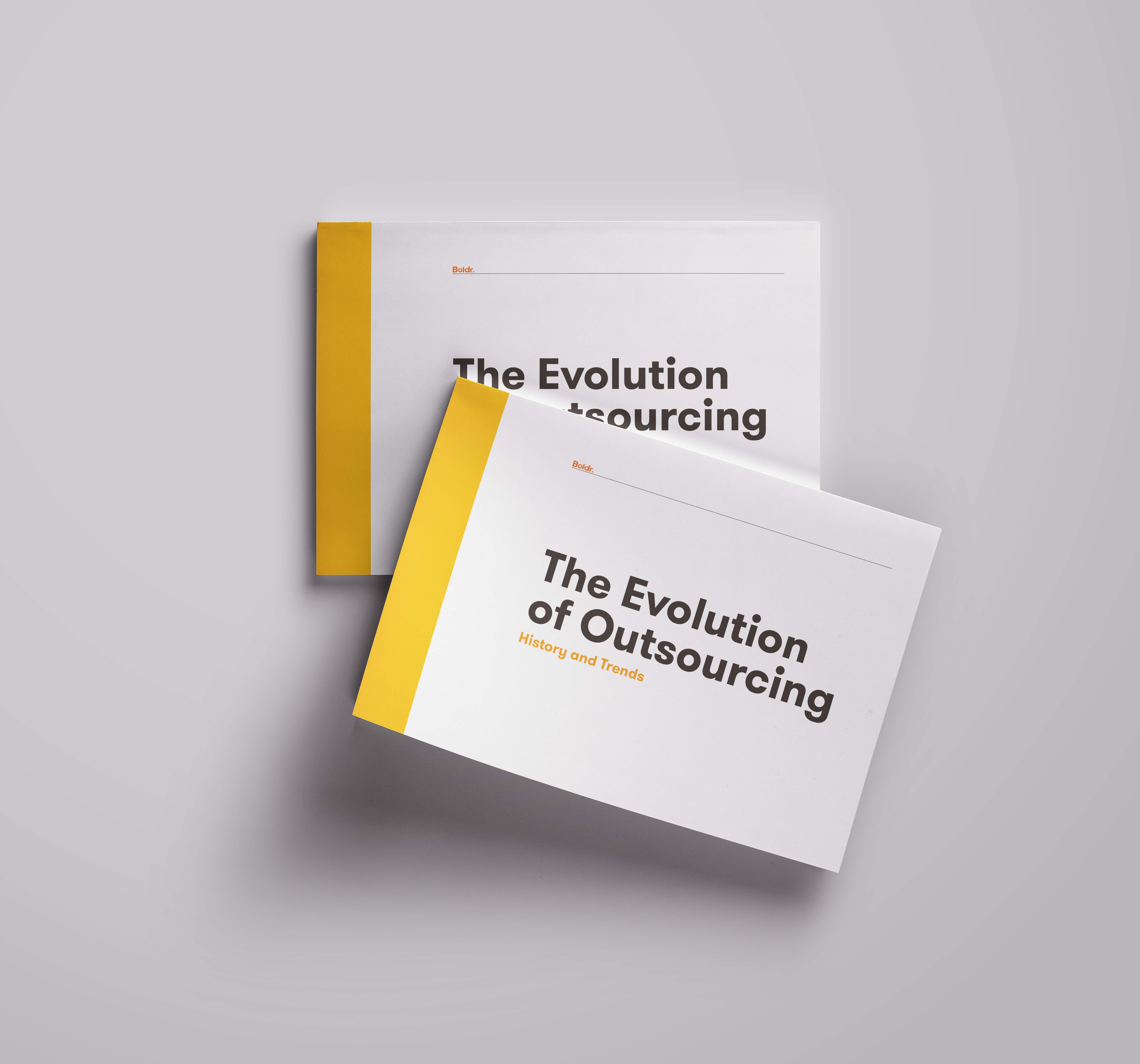 Evolution of Outsourcing eBook