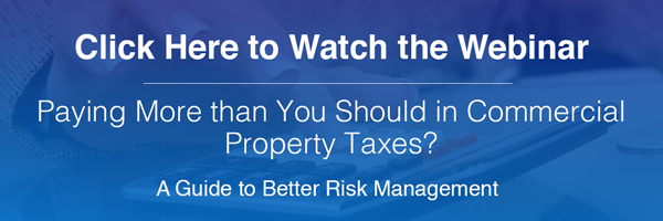 Watch the Webinar: Pay More than You Should in Commercial Property Taxes? A Guide to Better Risk Management