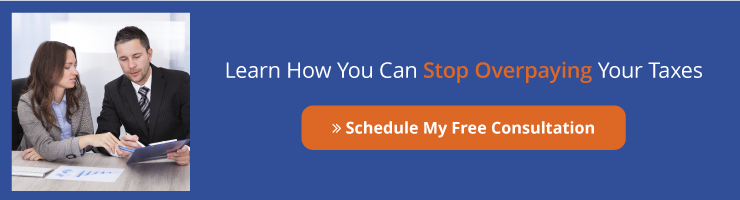 FREE CONSULTATION:  Learn How You Can Stop Overpaying Your Taxes! Schedule Now <>