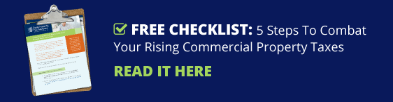 Free Checklist: 5 Steps To Combat Your Rising Commercial Property Taxes