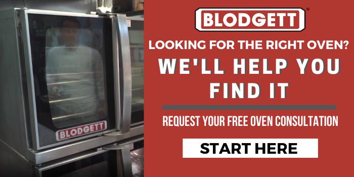 blodgett oven consultation