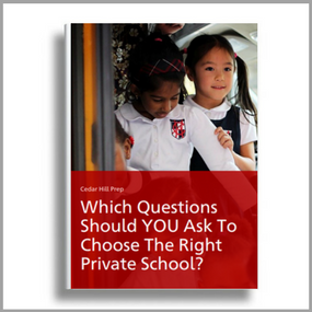 Click here to download the parent's guide on which questions to ask when evaluating a private school