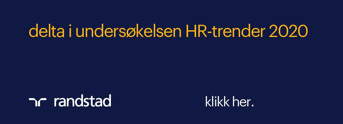 Delta i undersøkelsen HR-trender 2020