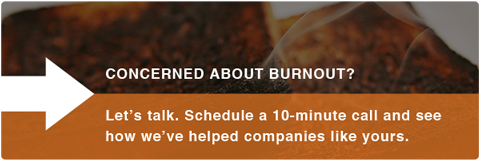 Concerned about burnout?