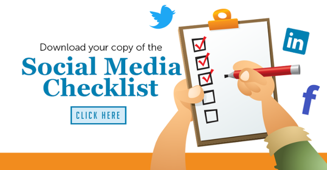 Social Media Checklist CTA