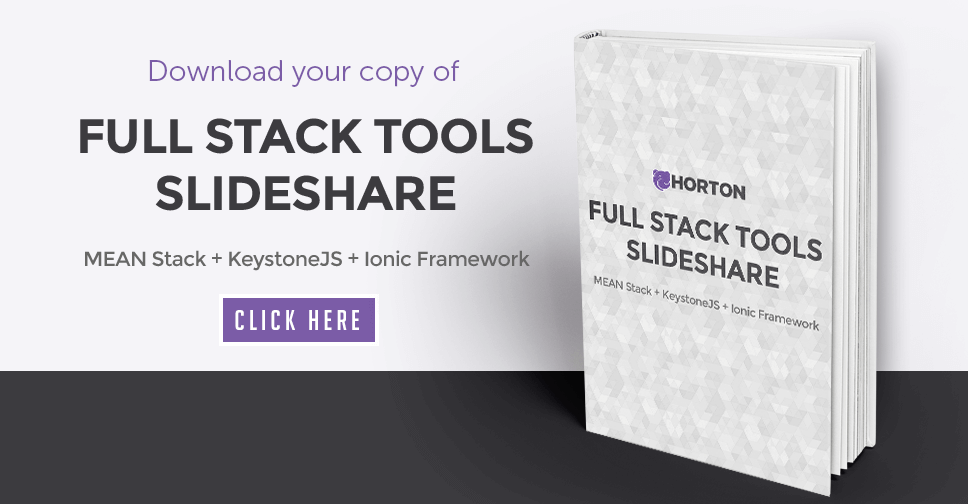 Download the Full Stack Tools Slideshare - MEAN Stack