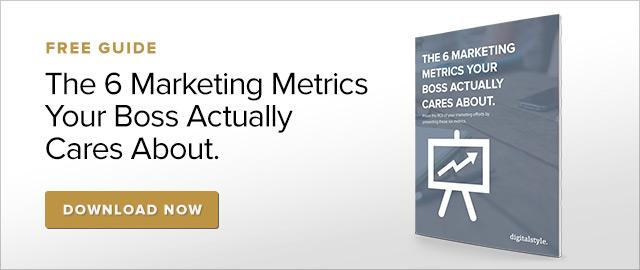 6 Metrics Your Boss Actually Cares About. Free Download