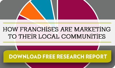 How franchises are marketing to their local communities