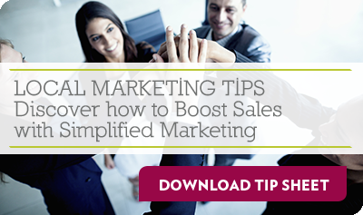 FREE TIP SHEET: Discover how to Boost Sales with Simplified Marketing