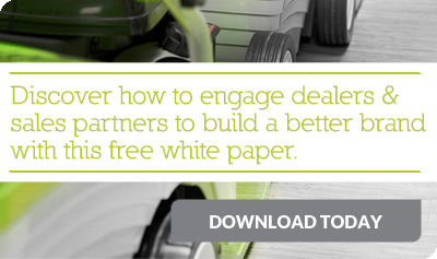 Discover how to engage dealers and sales partners to build a better brand with this free white paper. Download now