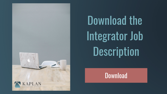 integrator job description template
