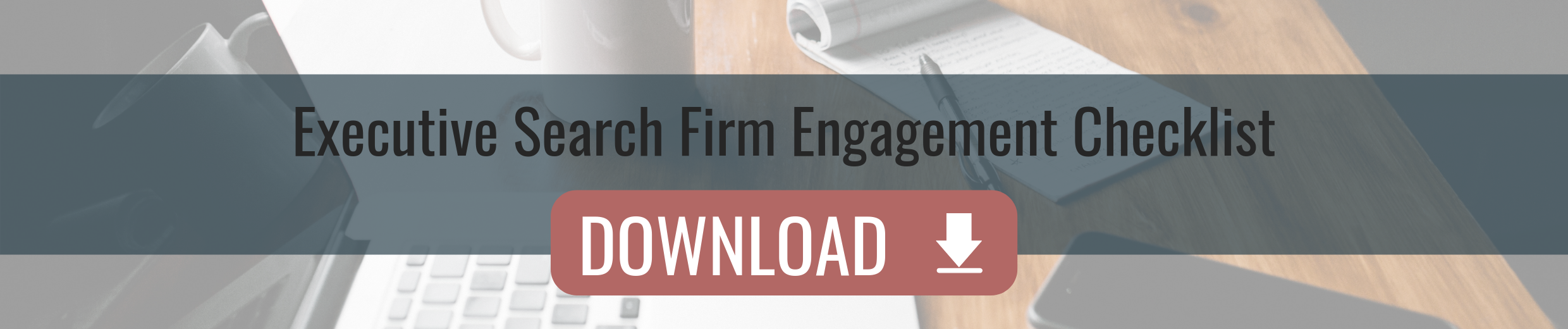 Executive Search Firm Engagement Checklist