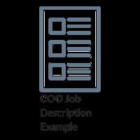 COO Job Description Example
