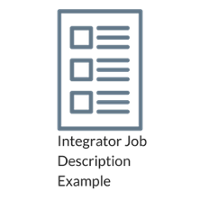Integrator Job Description Example