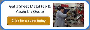 sheet metal fabrication assembly