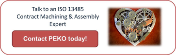 ISO 13485 medical device contract manufacturing