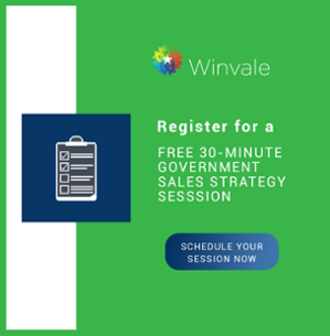 Schedule a free 30-minute government sales strategy session with Wiinvale.