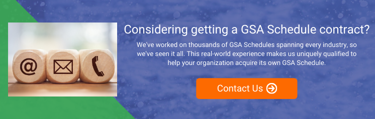 GSA Schedule Acquisition