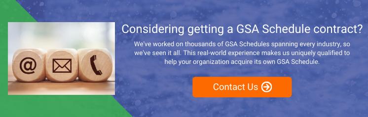 GSA Schedule Acquisition