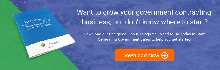 Top 8 Things You Need to Do Today to Start Generating Government Sales