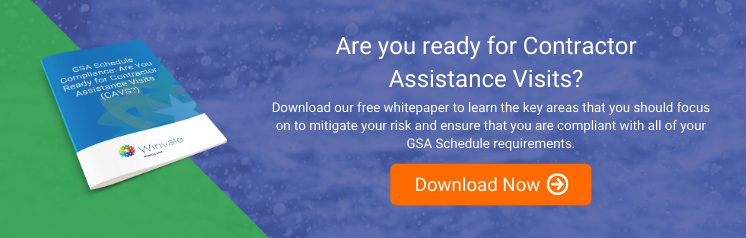 GSA Schedule Compliance: Are You Ready for Contractor Assistance Visits (CAVs)?