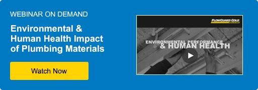 environmental impact of cpvc