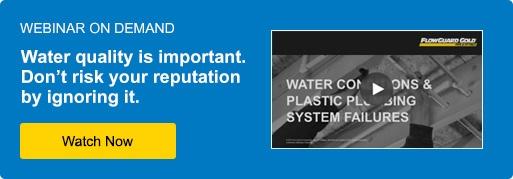 water conditions webinar