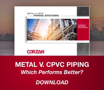 Metal v CPVC Piping Systems