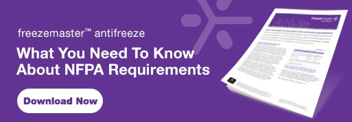 NFPA Requirements freezemaster Antifreeze