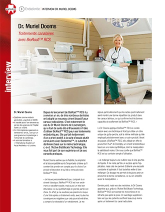 BioRoot RCS Interview Dr Dooms