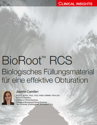 BioRoot RCS - Clinical Insights