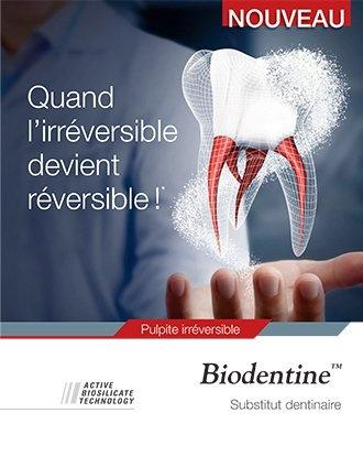 brochure Biodentine pulpitis
