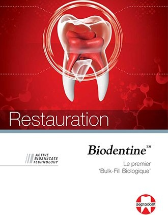 brochure Biodentine Restauration