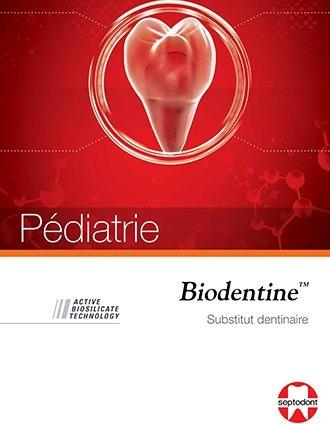brochure Biodentine Pediatrie
