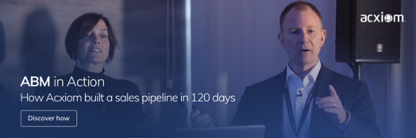 Discover how Acxiom built a sales pipeline in 120 days