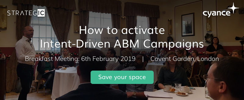 [Blog CTA] Feb Event Activate Intent Driven ABM