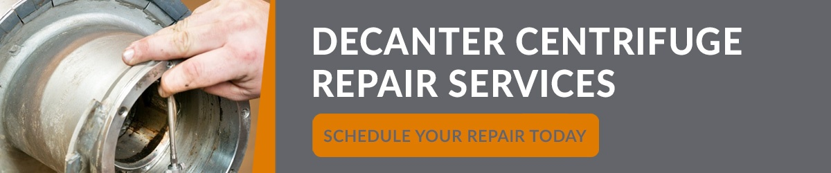 Decanter Centrifuge Repair Services