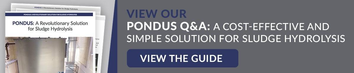 PONDUS Sludge Hydrolysis Guide button to download